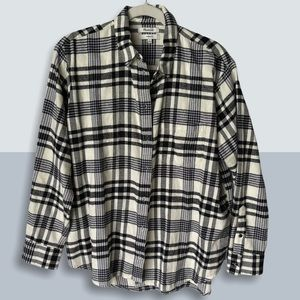 MADEWELL Oversized Plaid Flannel
